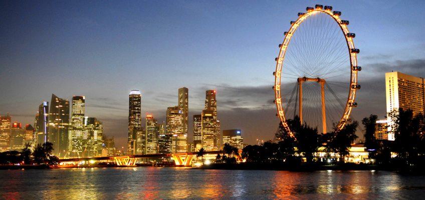 Singapore Flyer. Парящий Сингапур