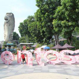 Экскурсия на остров Сентоза, Сингапур