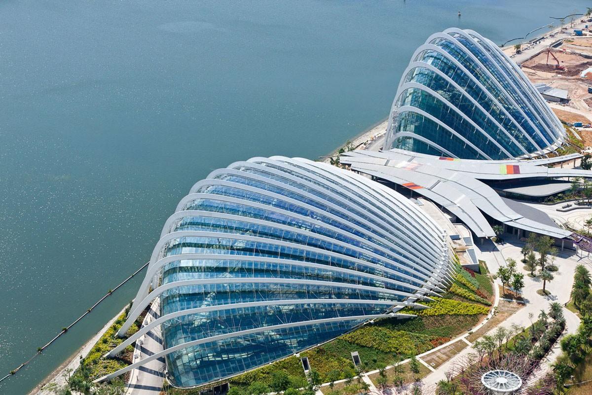 фото зданий в сингапуре это