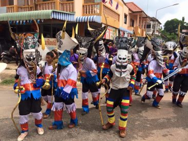 Фестиваль Пхи Та Кхон в Таиланде