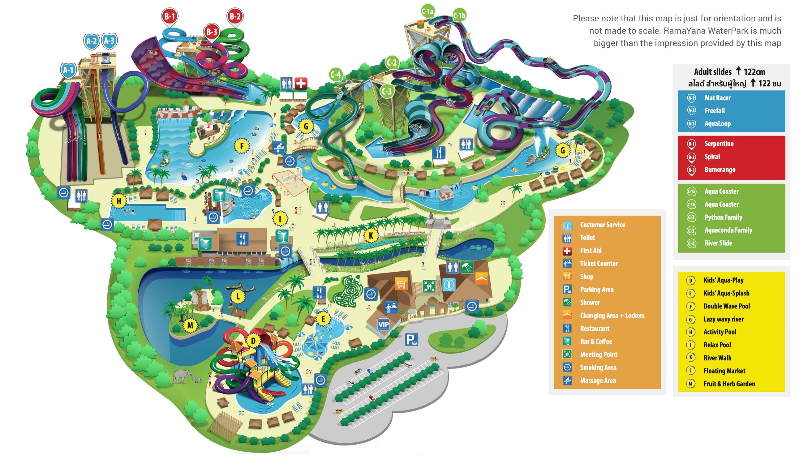 Аквапарк Рамаяна – парк водных развлечений в Паттайе