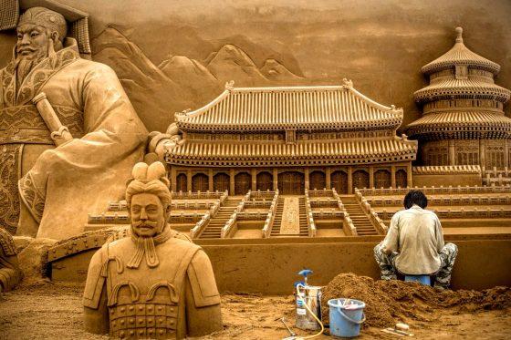 Парк песочных скульптур - World Sand Sculpture
