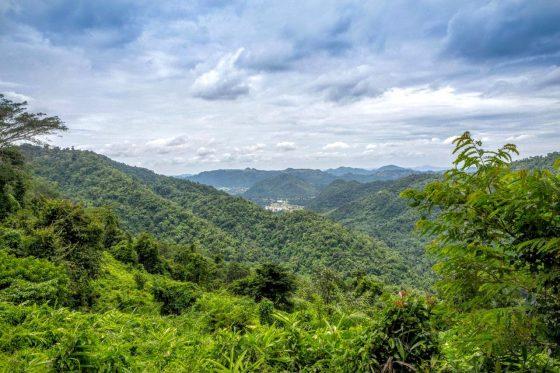Вид со смотровой площадки национального парка Кхауяй