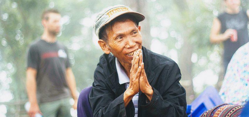 Вай – традиционное тайское приветствие